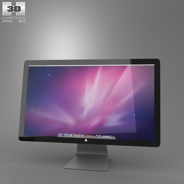 Apple Thunderbolt Display 27 2012 3D model - Hum3D