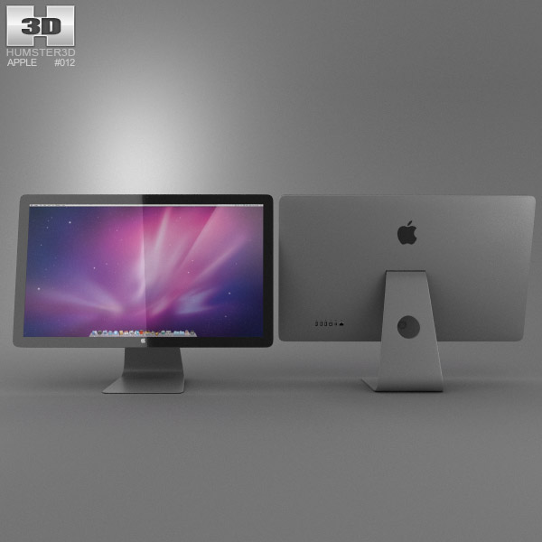 Apple Thunderbolt Display 27 2012 3d model