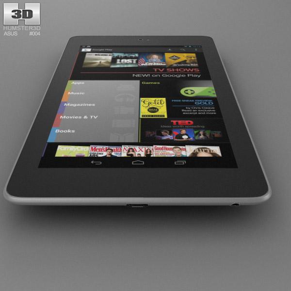 Google Nexus 7 3d Model Hum3d