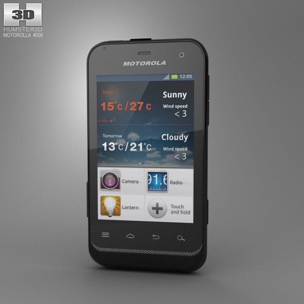 Motorola DEFY Mini 3d model