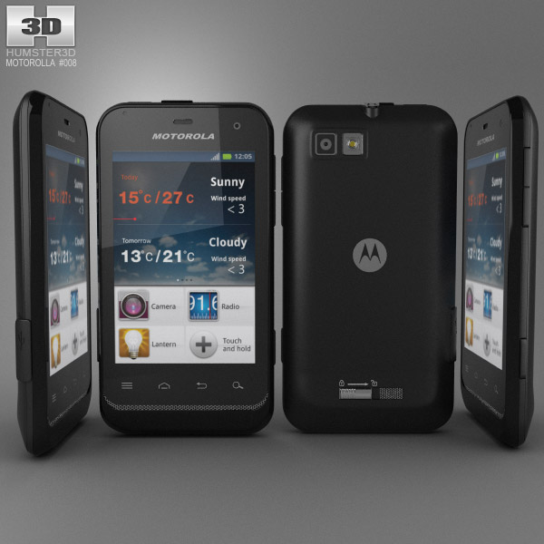 Motorola DEFY Mini 3d model