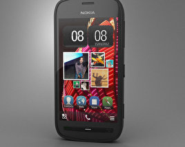 Nokia 808 PureView 3D model