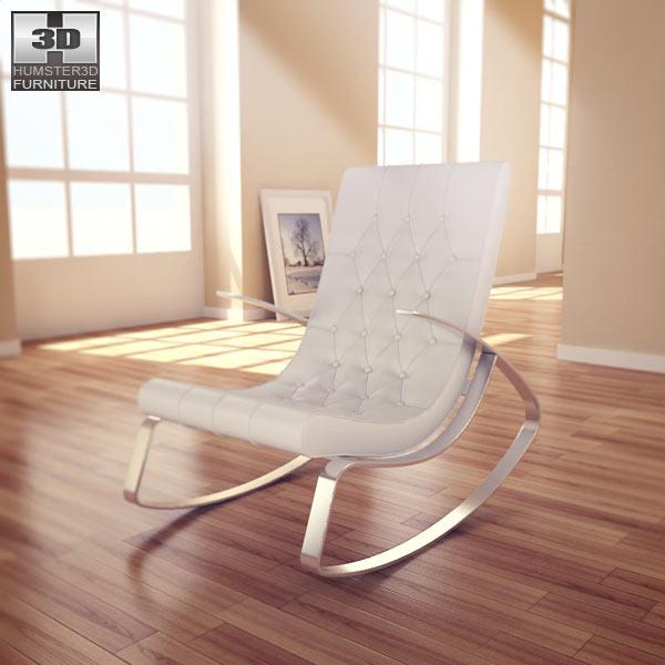 Raymondo Rocking Chair 3d model