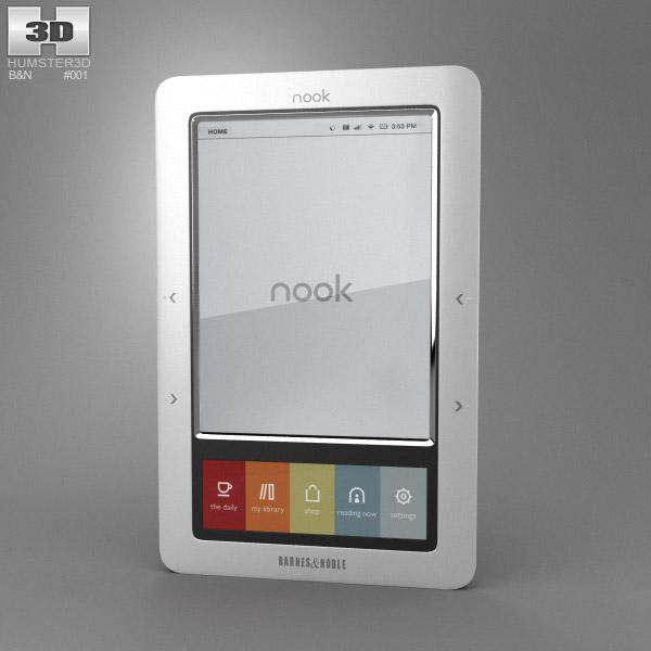 Barnes & Noble Nook Classic 3d model