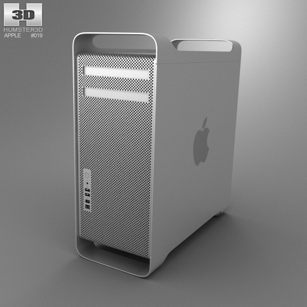 Apple Mac Pro 3d Model Hum3d