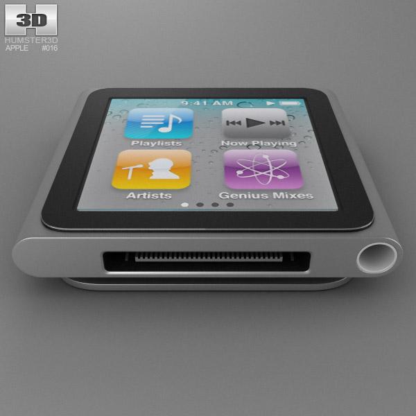 Apple iPod nano 3D model - Hum3D