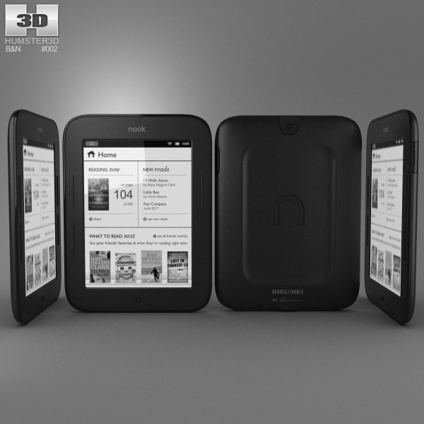 Barnes & Noble Nook Simple Touch 3d model