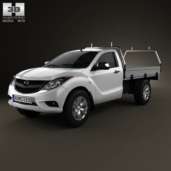 Mazda BT-50 Single Cab 2012 3d model