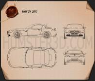 BMW Z4 2010 Blueprint
