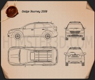 Dodge Journey 2009 Blueprint