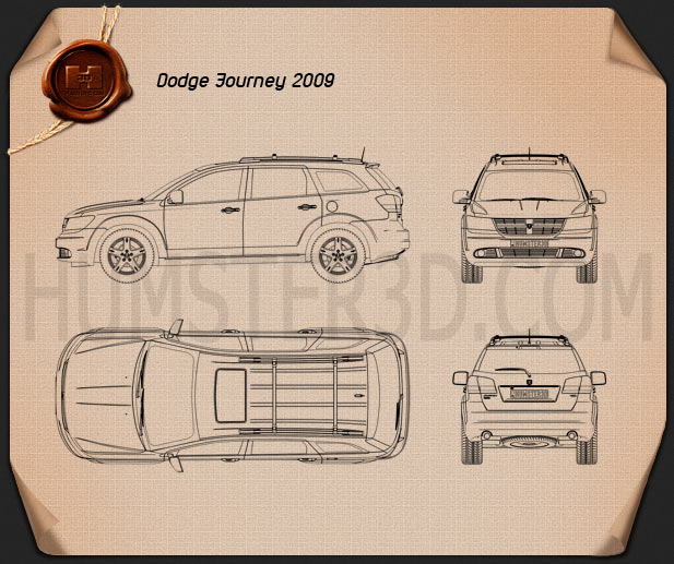 Dodge Journey 2009 Blueprint
