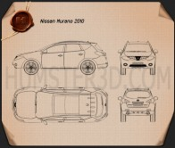 Nissan Murano 2009 Blueprint
