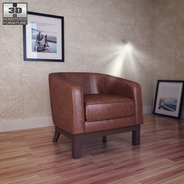 Accent Chair 3d model