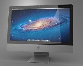Apple iMac 21.5 2013 3D model