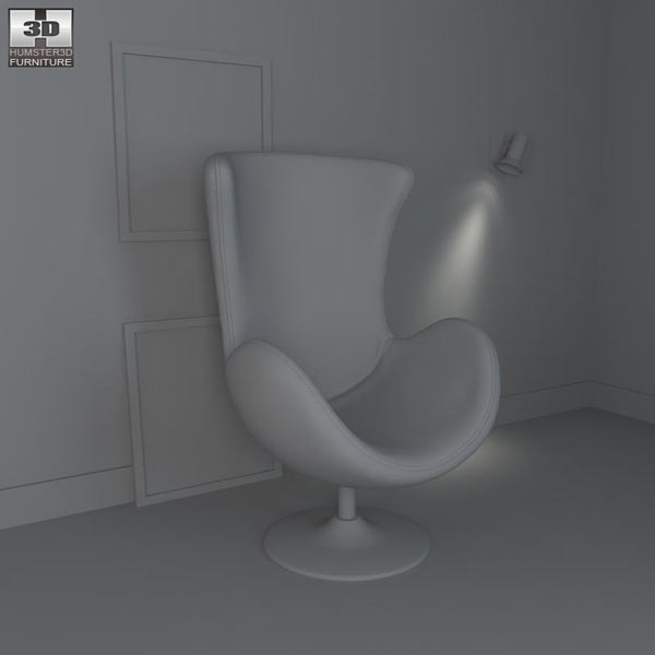 Occasional Chair – Andomeda Chair 3d model