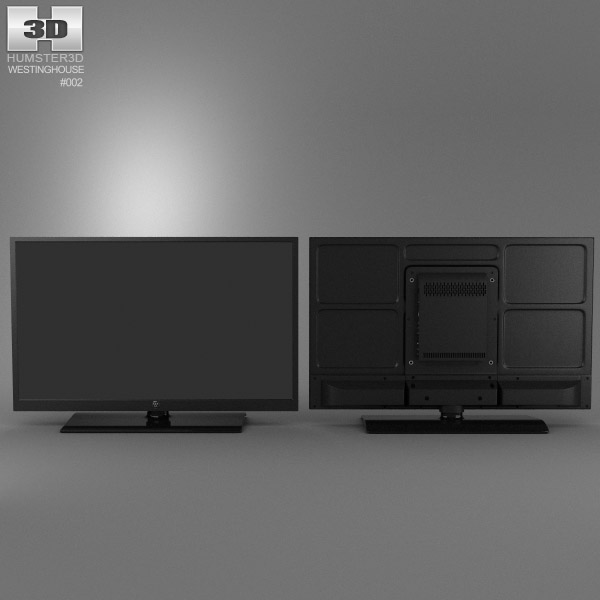 TV Westinghouse UW40T2BW 3d model