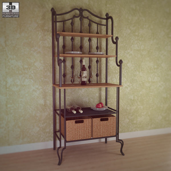 Saint Pierre Bakers Rack 3d model
