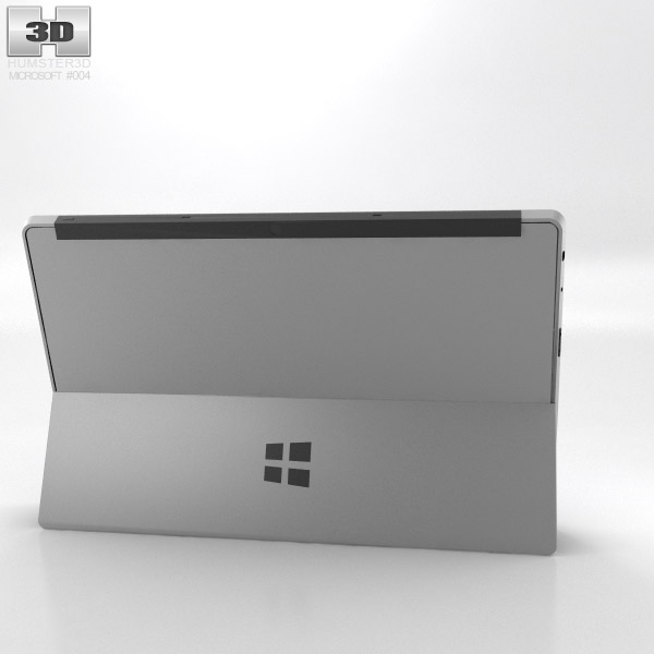 Microsoft Surface with Touch Cover 3d model