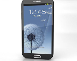 Samsung Galaxy Note 2 3D model