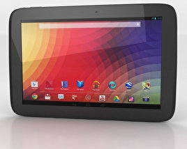 Google Nexus 10 3D model