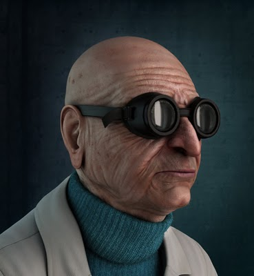 Professor Farnsworth by Carlos Lopez