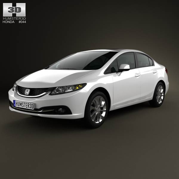 Honda Civic Mk9 sedan 2013