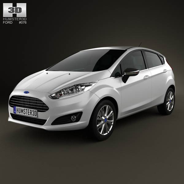 Ford Fiesta hatchback 5door 2013