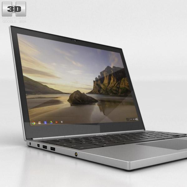 Google Chromebook Pixel 3D model - Hum3D