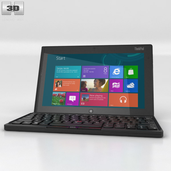 Lenovo ThinkPad Tablet 2 3d model