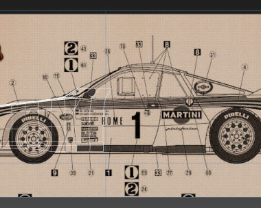 Lancia Rally Car 3d modeling tutorial 1