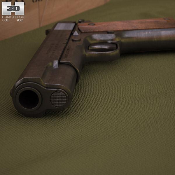Colt M1911 3d model