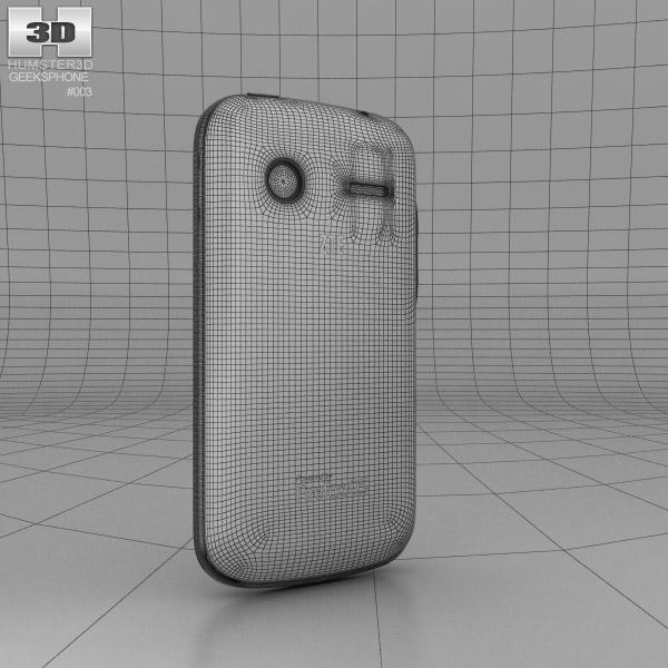 geeksphone zte open 3d model hum3d