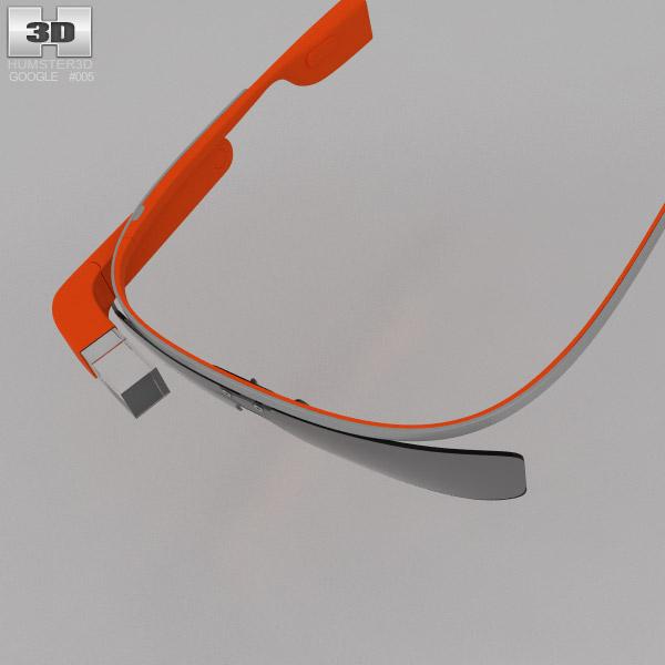 Google Glass 3d Model Hum3d