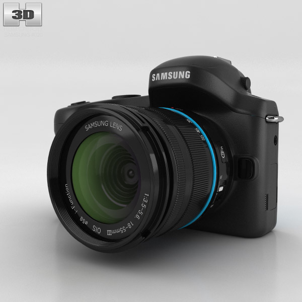 Samsung Galaxy NX 3d model