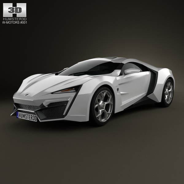 W-Motors Lykan hypersport 2012