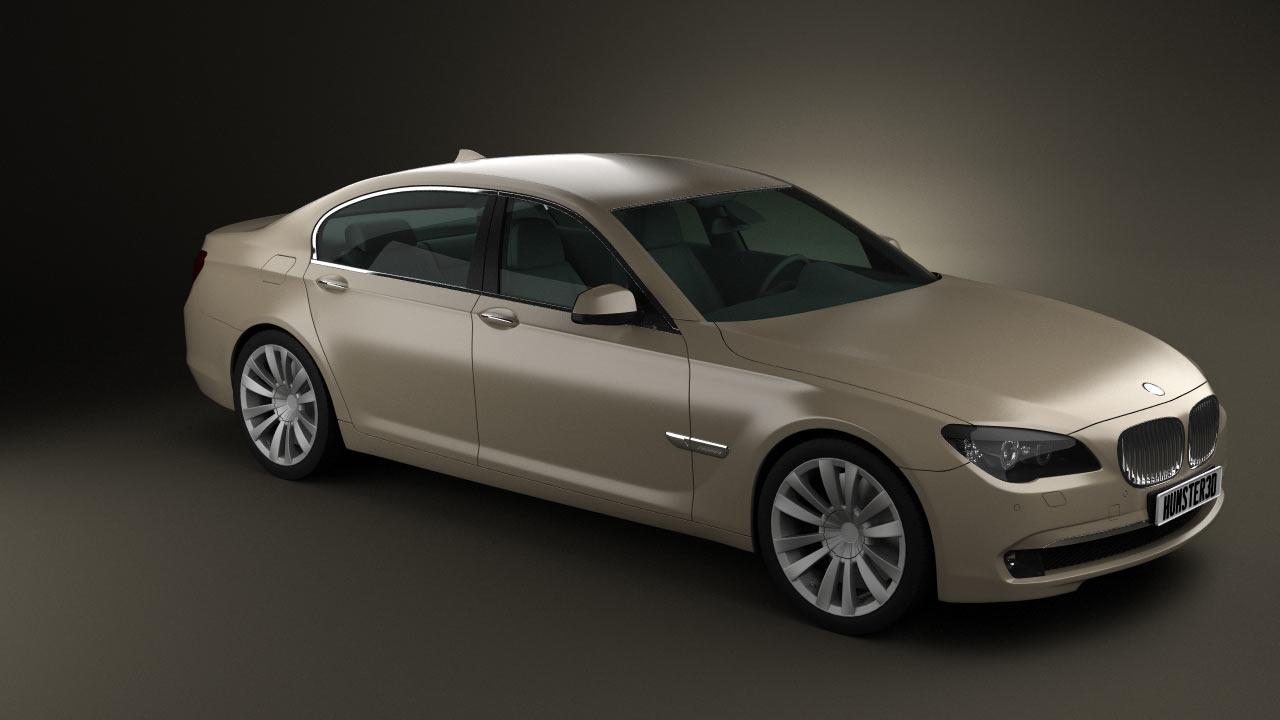 BMW 7 Series (750Li) 3d model