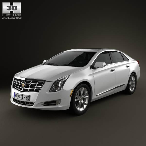 Cadillac XTS 3d model