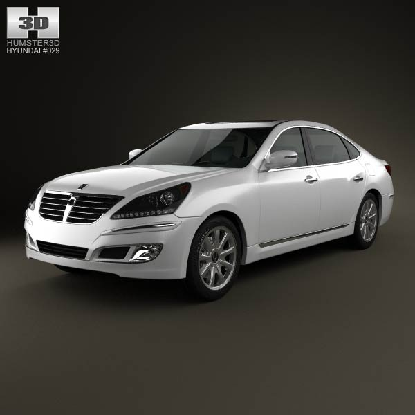 Hyundai Equus 3d model