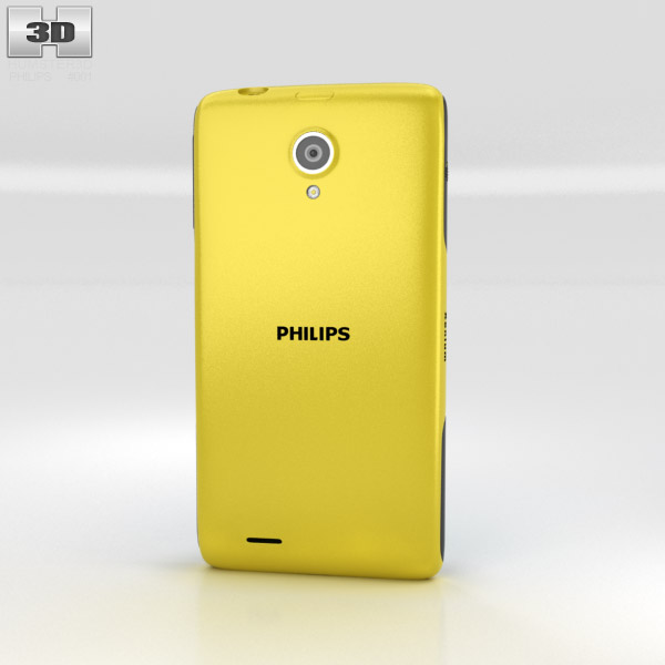 Philips Xenium W6500 3d model