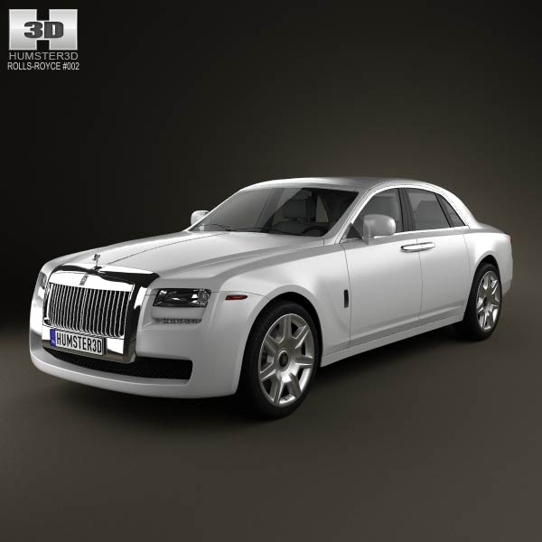 Rolls-Royce Ghost 3d model