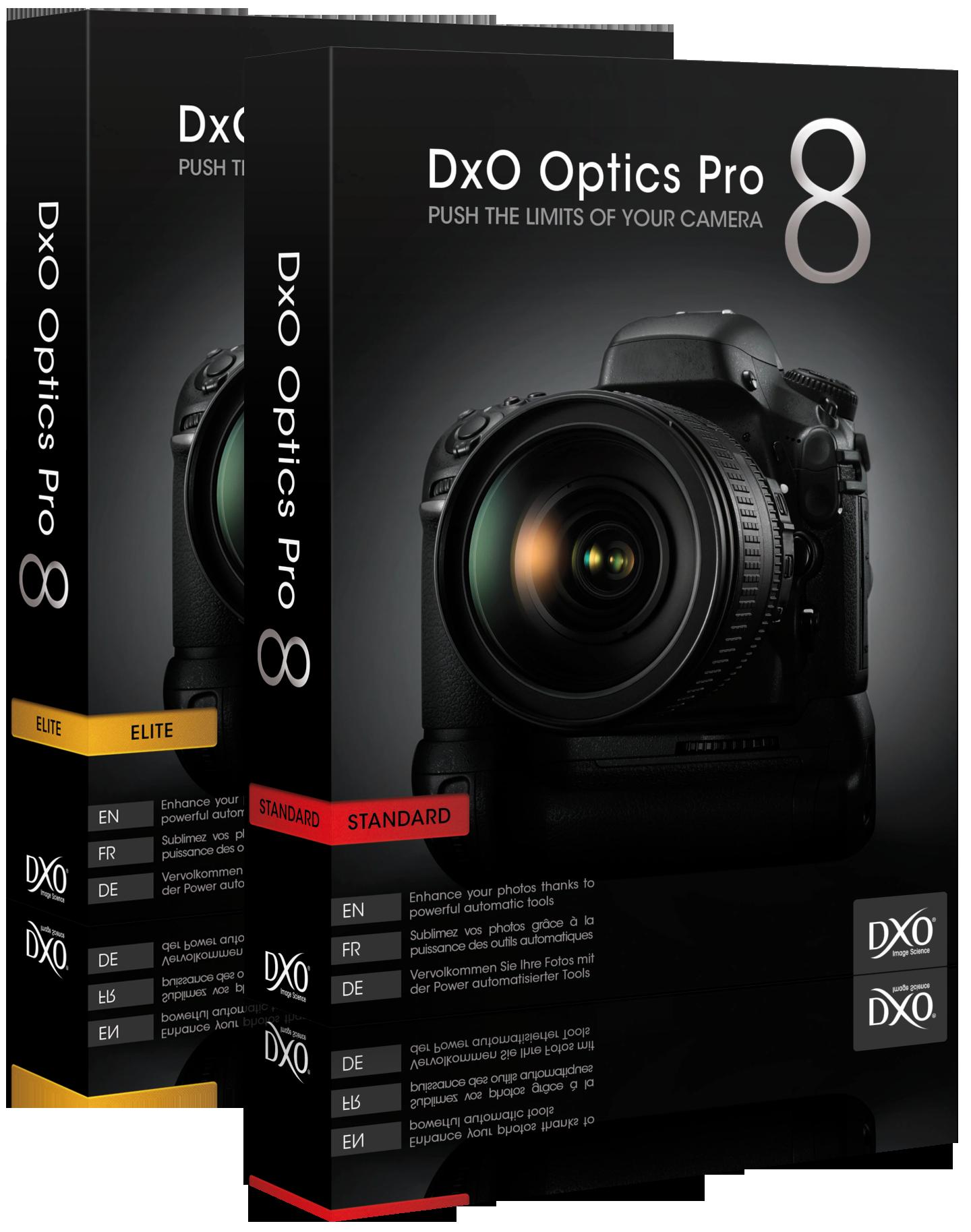 DxO Optics Pro v8.3.1