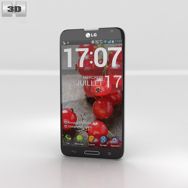 LG Optimus G Pro 3d model