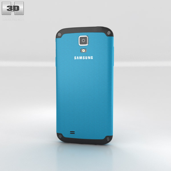 Samsung Galaxy S4 Active Dive Blue 3d model