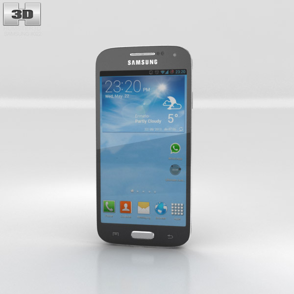Samsung Galaxy S4 Mini Black 3d model