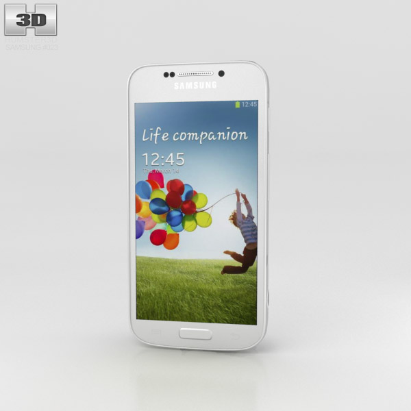 Samsung Galaxy S4 Zoom White 3d model