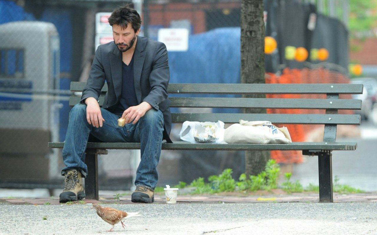 Even Keanu Reeves feels sad