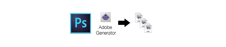 Adobe Generator Bitmaps