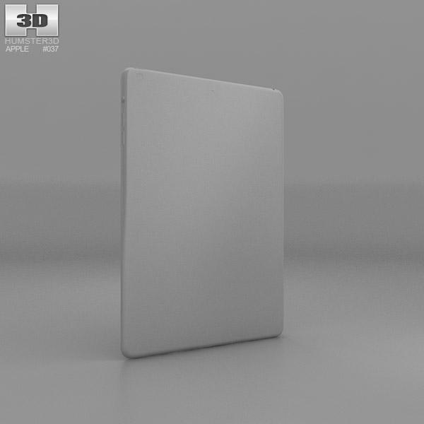 Apple iPad Air Silver WiFi 3D model - Hum3D