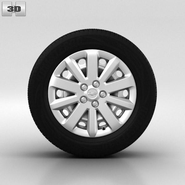 Chevrolet Cruze Wheel 16 inch 001 3d model