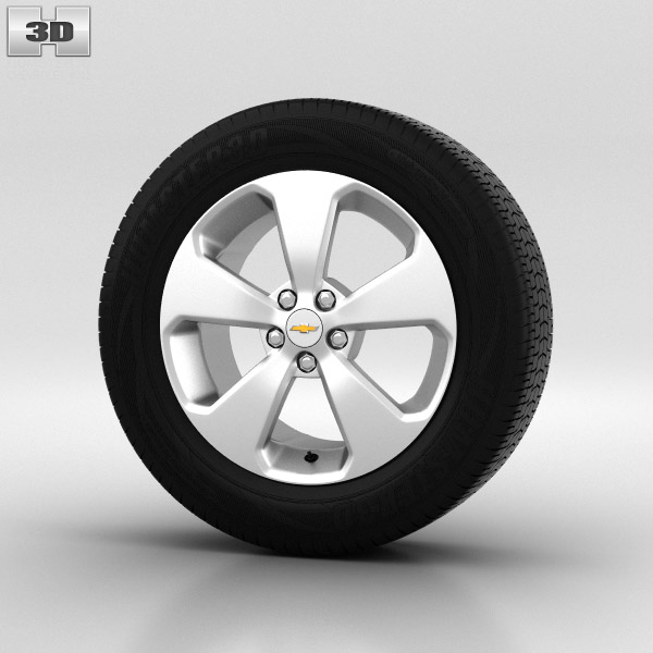 Chevrolet Cruze Wheel 17 inch 001 3d model